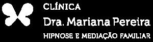 Logótipo Clínica Dra. Mariana Pereira em formato de borboleta